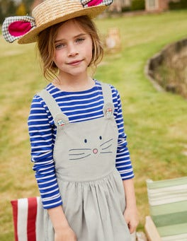 Animal Dungaree Dress