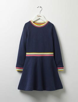 School Navy Marl Cosy Sweatshirt Dress