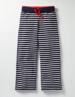 School Navy/Ecru Casual Sweatpants