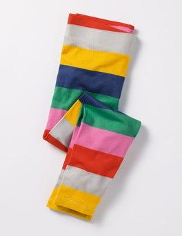 Multi Rainbow Stencil Fun Leggings