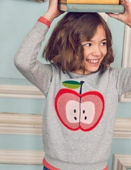 Cosy Bouclé Sweatshirt