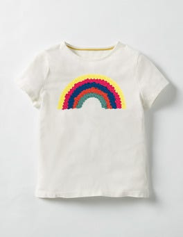 Ecru Rainbow Great Outdoors T-shirt