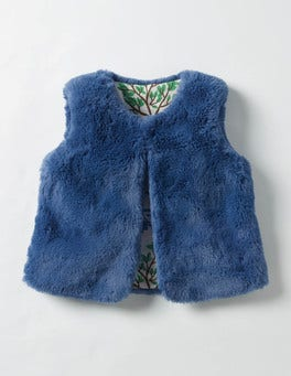 Azure Blue Party Gilet