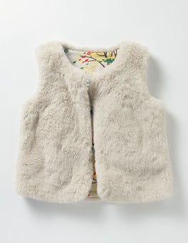 Oatmeal Party Gilet