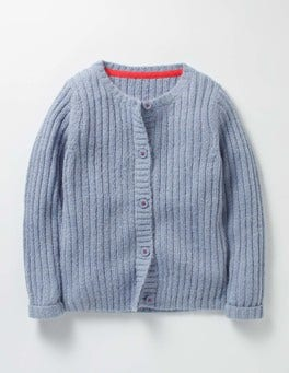 Wren Blue Cosy Everyday Cardigan