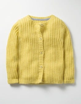Sweetcorn Yellow Cosy Everyday Cardigan