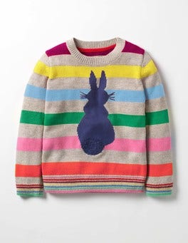 Rainbow Bunny Fun Jumper