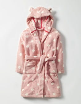 Provence Dusty Pink Spot Cosy Dressing Gown