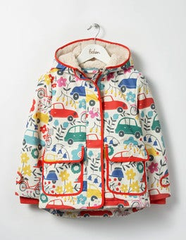 Blooming Traffic Sherpa-lined Anorak