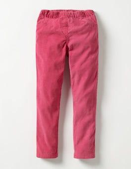 Rose Blossom Pink Cord Leggings