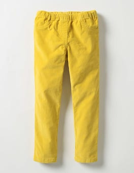 Sunshine Yellow Cord Leggings