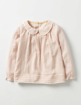 Provence Dusty Pink Floaty Smock Top