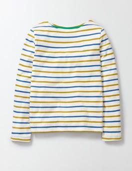 Skipper/Mimosa Stripe Breton T-shirt
