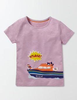 Delphinium Boat Save the Day T-shirt