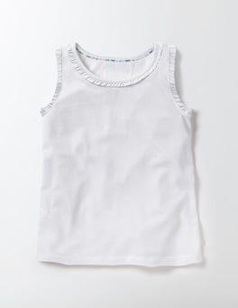 White Pretty Vest
