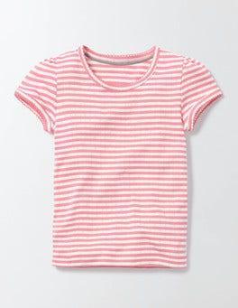 Short Sleeve Pointelle T-Shirt