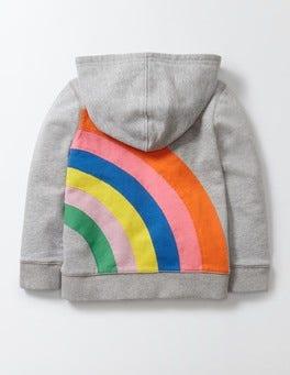 Grey Marl Rainbow Rainbow Chaser Hoody