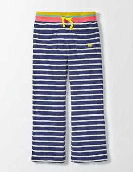 Starboard/Ivory Stripe Towelling Sweatpants