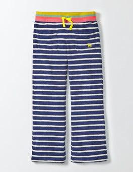 Starboard/Ivory Stripe Towelling Sweatpants
