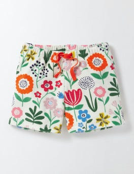 Multi Wallpaper Floral Adventure Towelling Shorts