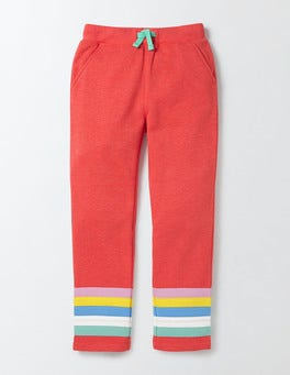 Rosehip Marl Stripes Adventure Sweatpants
