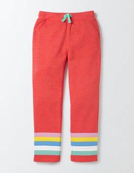 Rosehip Marl Stripes Adventure Sweatpants