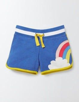 Skipper Rainbow Appliqué Jersey Shorts