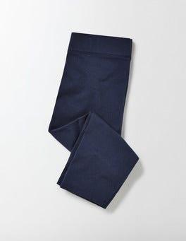 Navy Essential Cropped Leggings