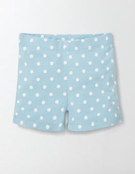 Mineral Blue Confetti Spot Essential Jersey Shorts