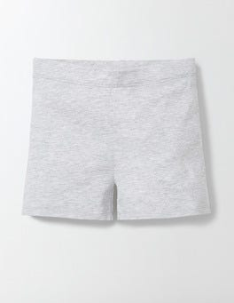 Grey Marl Essential Jersey Shorts