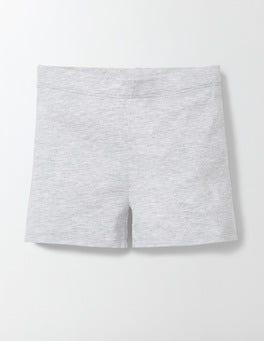 Grey Marl Essential Jersey Shorts