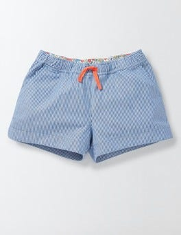 Skipper Stripe Heart Pocket Pull-on Shorts