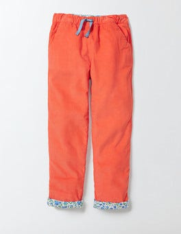 Raspberry Whip Relaxed Pull-On Trouser