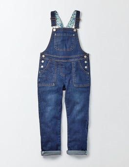 Mid Vintage Long Dungarees