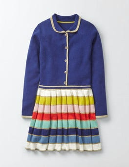 Starboard Rainbow Knitted Dress