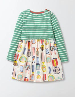 Waterfall Top Dog Hotchpotch Jersey Dress