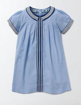 Light Chambray Pretty Collar Dress