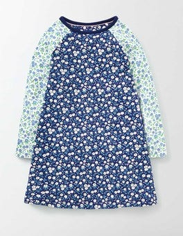 Starboard Spring Daisy Jersey Swing Dress
