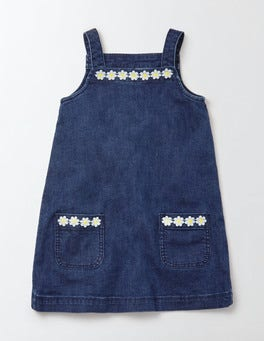 Mid Vintage Dungaree Dress