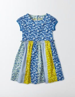 Bright Bluebell Flower Bed Pretty Hotchpotch Dress