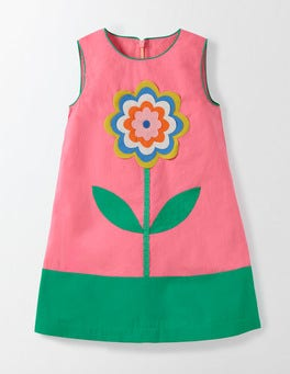 Pink Fizz Flower Fun Woven Dress