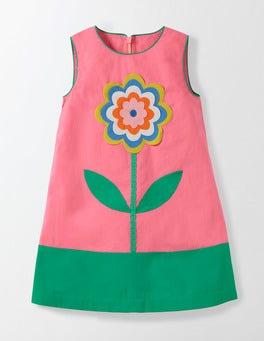 Pink Fizz Flower Fun Woven Dress