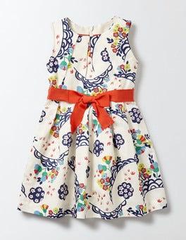 Multi Festival Floral Vintage Dress