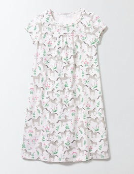 Ivory Pony Toile Printed Nightie