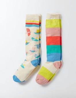 2 Pack Knee Socks