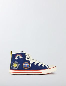 Appliqué High Tops