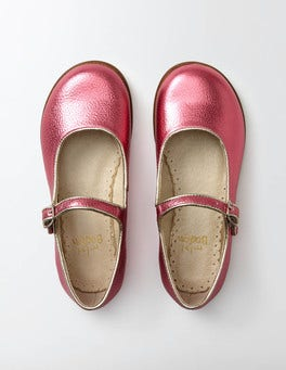 Pink Fun Mary Janes