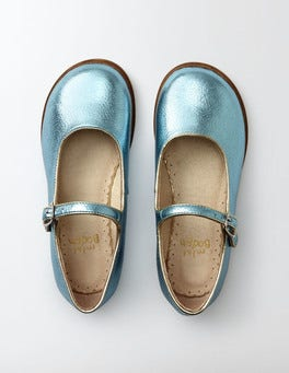 Ice Blue Fun Mary Janes