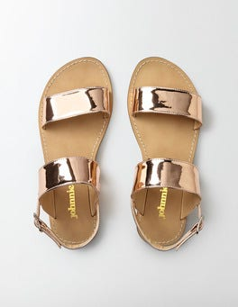 Rose Gold Everyday Sandals