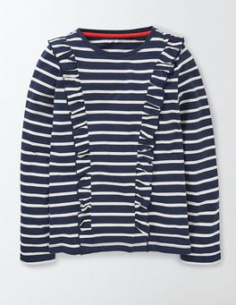 Navy/Ivory Stripe Cecile Top